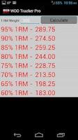 Screenshot of WOD Tracker Pro