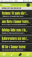 Screenshot of Summarfestivalurin