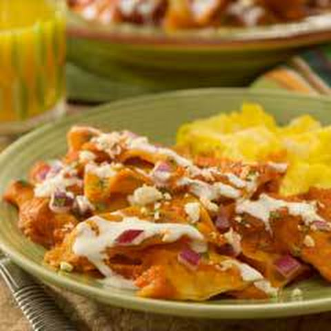 Quick Chipotle Chilaquiles