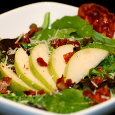Pear, Arugula, and Pancetta Salad