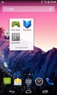 Launcher+ Screenshot