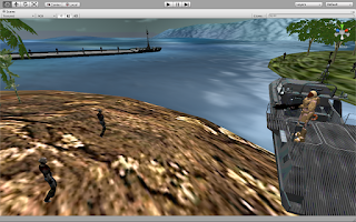 Screenshot of Speed Boat: Zombies