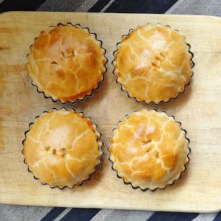 Butternut Squash And Goat's Cheese Pies