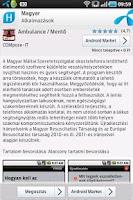 Screenshot of Magyar Alkalmazások