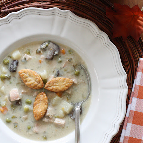 Turkey Pot Pie Soup