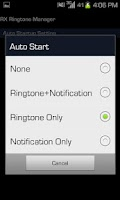 Screenshot of Random - Eris Ringtone Manager