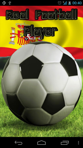Real Football Player Spain