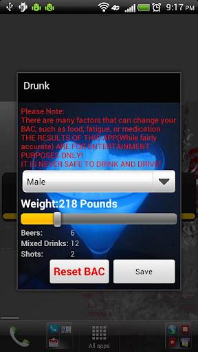 Drunk Widget