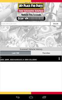 Screenshot of MyPlace VINScan