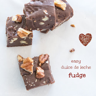 Easy Dulce de Leche Fudge