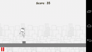 Screenshot of Meme Runner