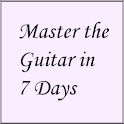 Master the Guitar in 7 Days icon