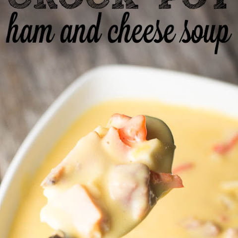 Ham and Cheese Soup {Crock Pot}