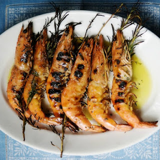 Grilled Shrimp with Rosemary
