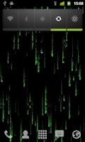 Screenshot of Matrix Effect LiveWallpaper