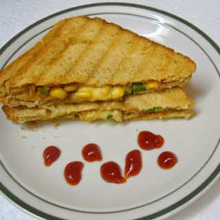 Sweet Corn Sandwich Recipes