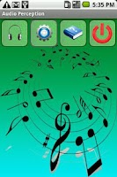 Screenshot of Audio Perception