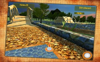Screenshot of Forest Golf
