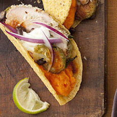 Pork-and-Black Bean Tacos