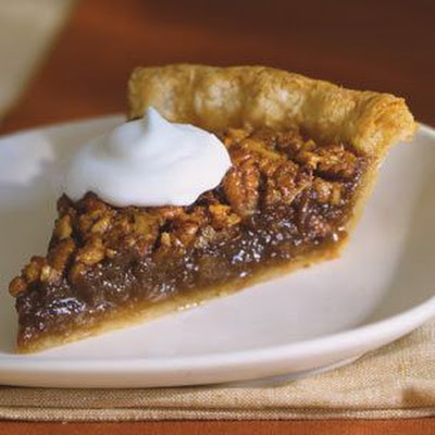 Pecan Pie with Bourbon-Spiked Cream