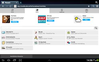 Screenshot of Planet3 Launcher