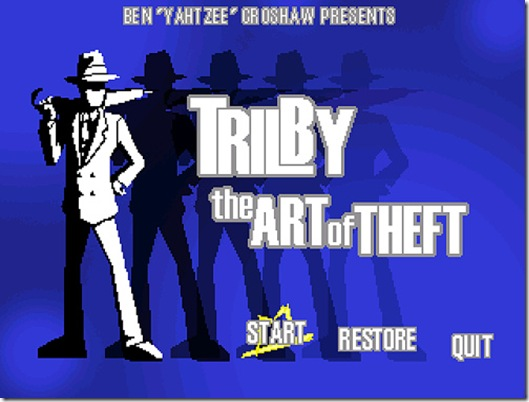 Trilby_title_screen
