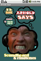 Screenshot of Arnold Says