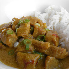 Soor Vindaloo (curried Pork)