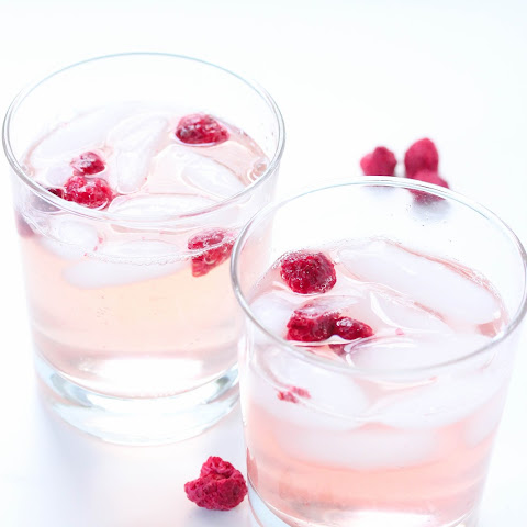 DIY Lemon raspberry soda