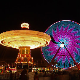 Spinners by Ajit Pillai - City,  Street & Park  Amusement Parks ( high quality, in focus,  )
