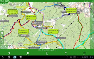 Screenshot of SmartMaps: Edice Vodafone