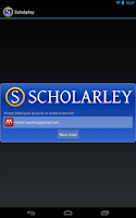 Screenshot of Scholarley (Beta)