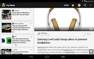 Screenshot of Appy Geek for Tablet