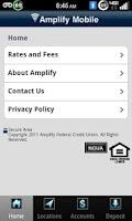 Screenshot of Amplify Mobile