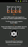 Screenshot of ELLE à table+