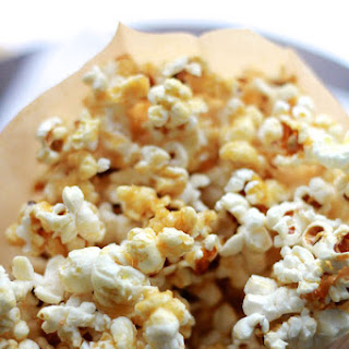Healthy Caramel Corn