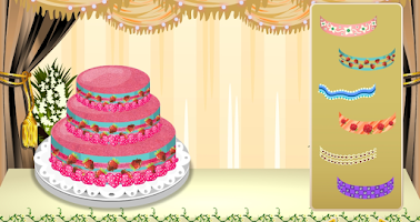 Screenshot of wedding cake maker - girl game