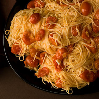 Angel Hair Pasta with Spicy Vodka Sauce