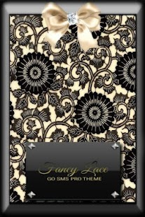 How to install Fancy Lace GO SMS Pro Theme 1.0 unlimited apk for android