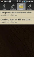 Screenshot of Campout East!