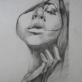 Hands by Sayantani Roy - Drawing All Drawing