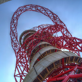 The Orbit by Stephen Hall - Buildings & Architecture Statues & Monuments ( olympic park, london, stratford, monument, orbit )