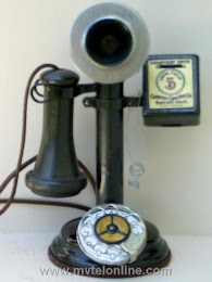 Candlestick Phones - AE Stairstep Base Candlestick Telephone 1