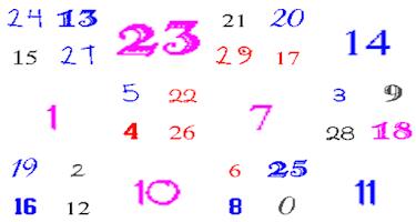 Screenshot of Old school count