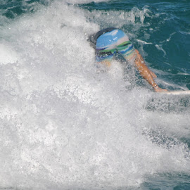 wipe out by James Menteith - Sports & Fitness Surfing ( surfing, fitness, sport, waterscapes,  )