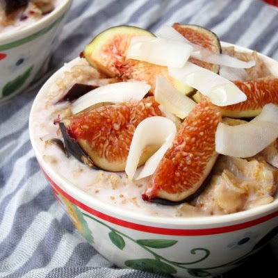 Coconut, Honey, & Fig Oatmeal