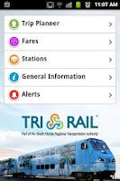 Screenshot of Tri-Rail