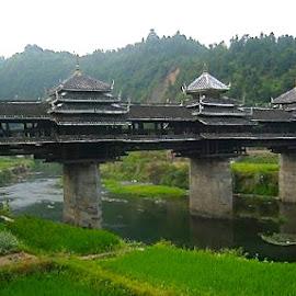 Guanxi Bridge by Tyrell Heaton - Buildings & Architecture Bridges & Suspended Structures ( guanxi, bridge )