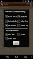 Screenshot of Coffee Anywhere