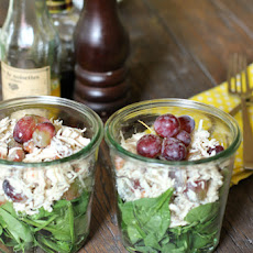 Chicken Salad Recipe in a Jar